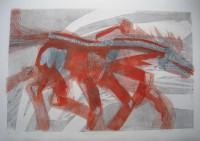 Sleibner - Odins horse, 70 x 50,