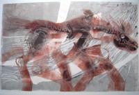 Sleibner- Odins horse, 70 x 50