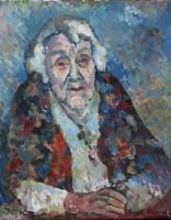 Sophi, 96, oil, 40 x 60