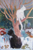 Waiting for spring, 40 x 60, oil, 2012