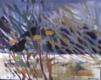 Snowstorm, 60x 40, oil, 2012