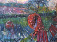 Autumn view, 120 x 90, oil on canvas, 2015