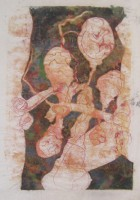 Where you coming from, monotype, 50 x 70