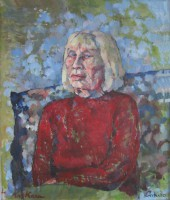 Still home, oil, 60 x 80, Sold