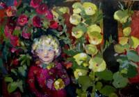 Rosalil , oil, 100 x 80
