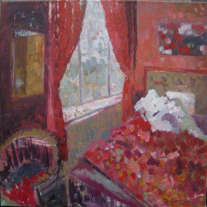 Wishfulnes, 40 x 40, oil on canvas, 2014