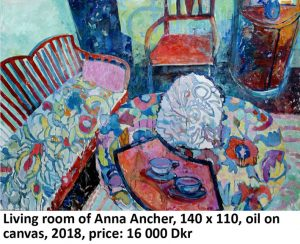 Anna Anchers living room